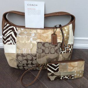 Coach Purse + Matching Wristlet